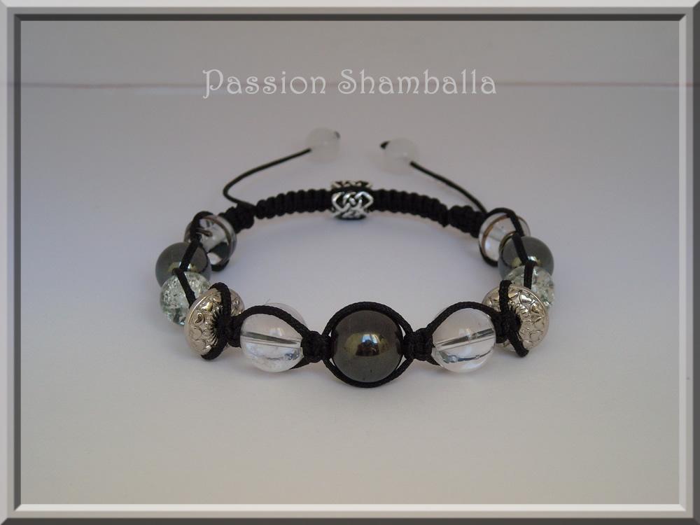 Bracelet style shamballa homme